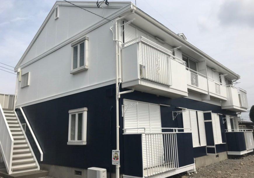 栃木市 Sハイツ 外壁塗装工事
