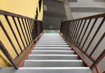 宇都宮市 コーポS 階段防水工事